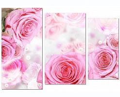 Мраморные розы Фролово памятник из цветного гранита Елатьма